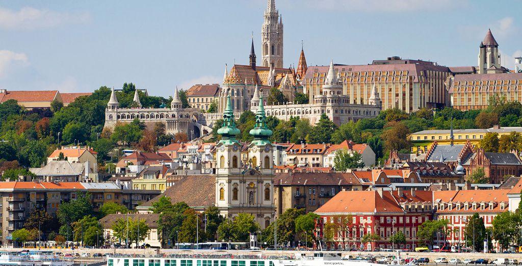 Dos grandes ciudades que hoy se unen para formar una de las capitales europeas de mayor importancia