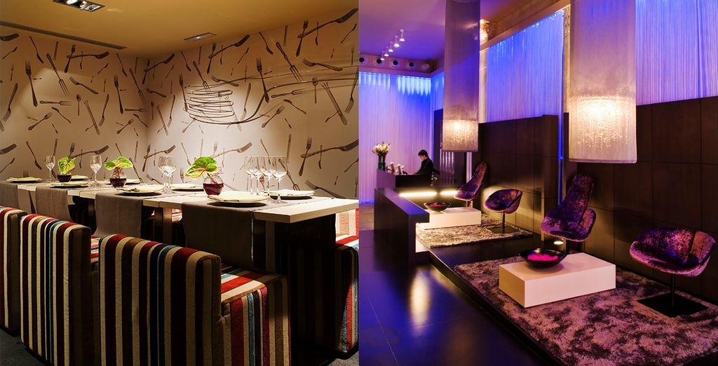 Descubra el 987 Lounge & 987 Restaurant