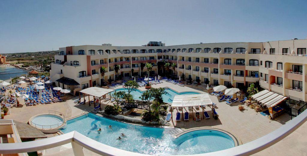 Un completo resort para unas merecidas vacaciones