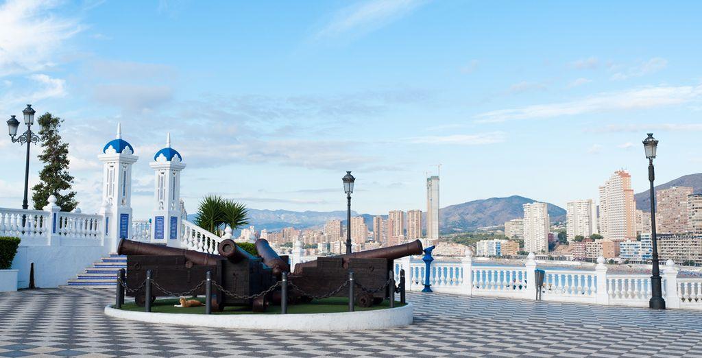El casco antiguo de Benidorm - Balcón del Mediterráneo