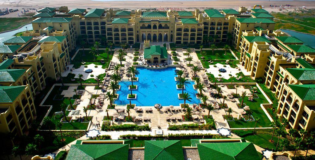 Disfrute de este maravilloso hotel de cinco estrellas