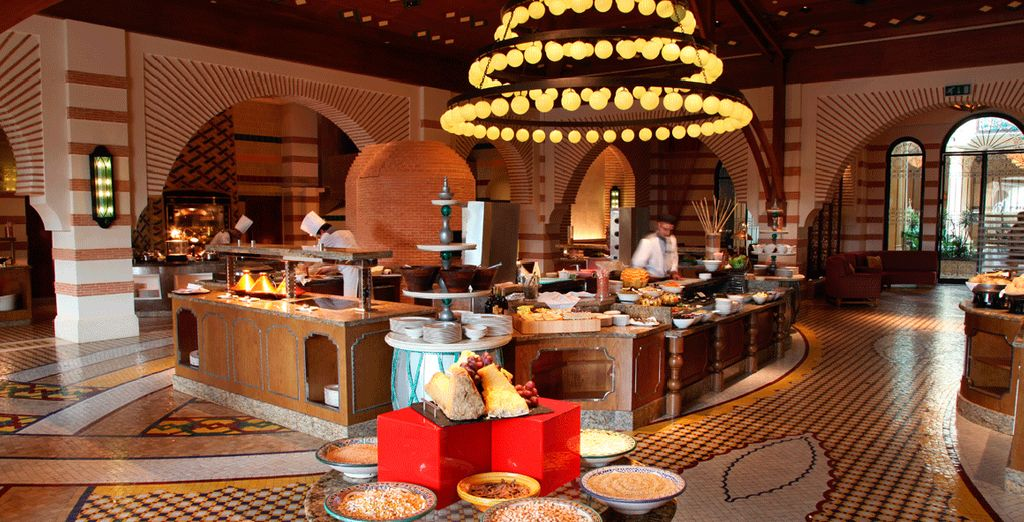Goce de la gastronomía marroquí
