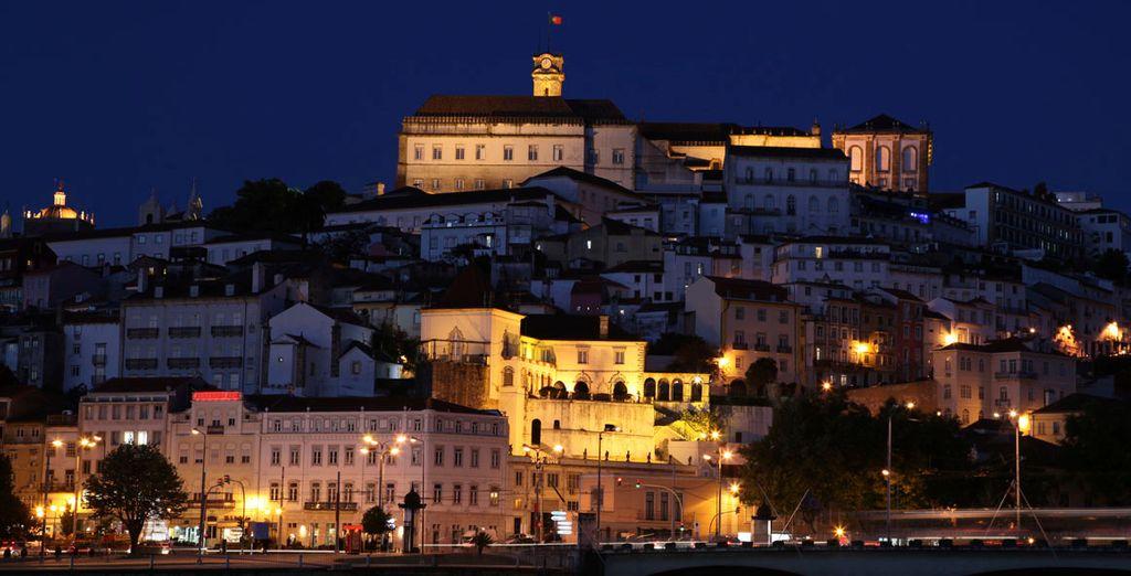 Aproveche para visitar Coimbra