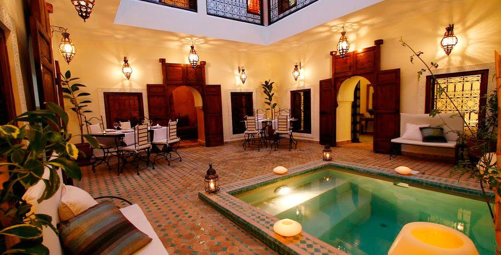 Bienvenido al Riad Dar Elma