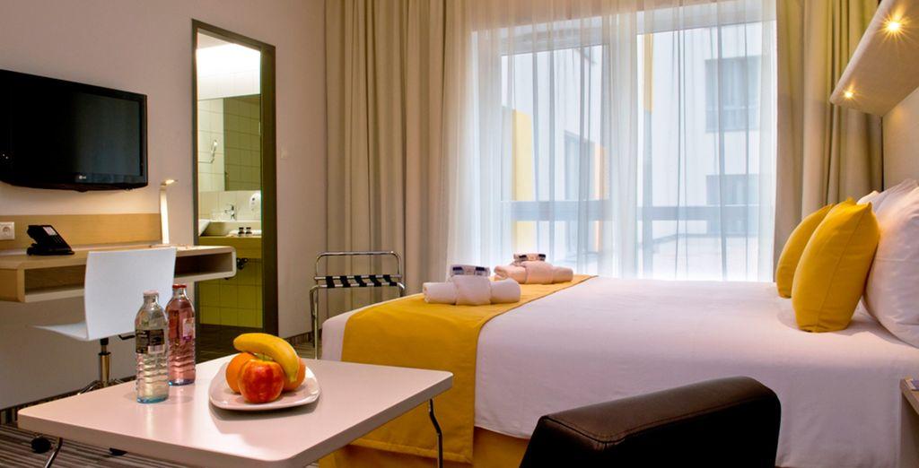 Su Habitación en el Hotel Radisson Park 5*...