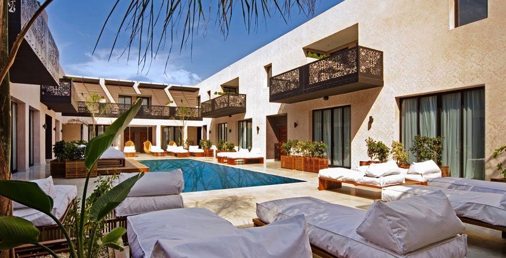 Un oasis de relax en Marrakech