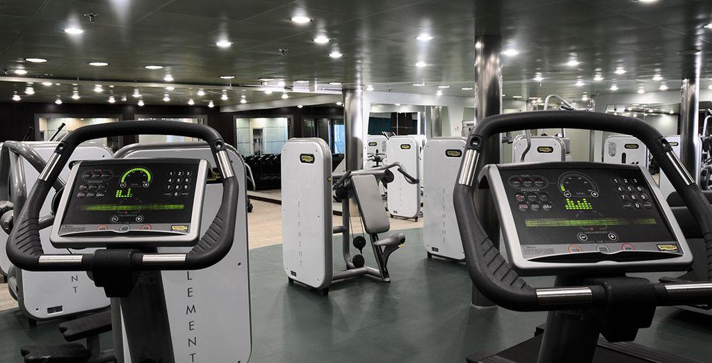 También dispone de un gimnasio con máquinas Technogym de última tecnología
