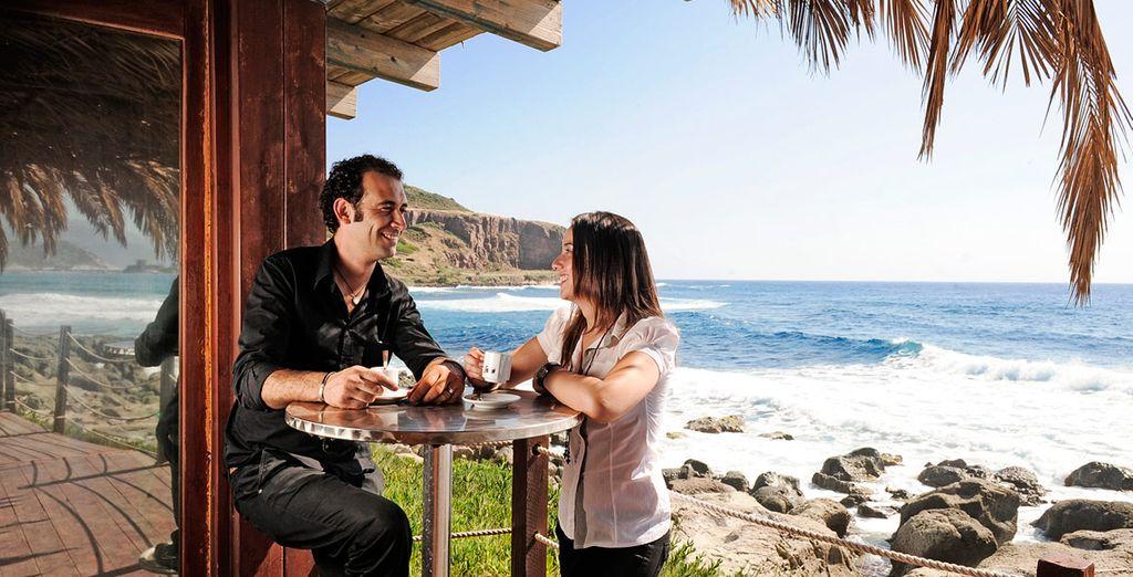 Le Quattro More representa el lugar perfecto para un almuerzo ligero sin perderse las impresionantes vistas