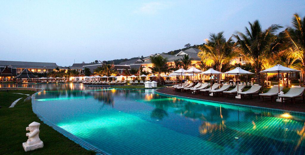 El Hotel Sofitel Phokeethra tiene la piscina más grande de Tailandia