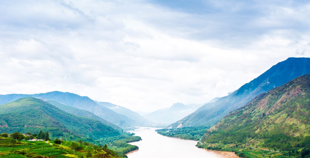 El río Yangtse es el más largo de Asia y el tercero más largo del mundo