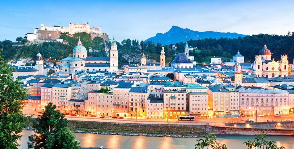 La Bella ciudad de Salzburgo