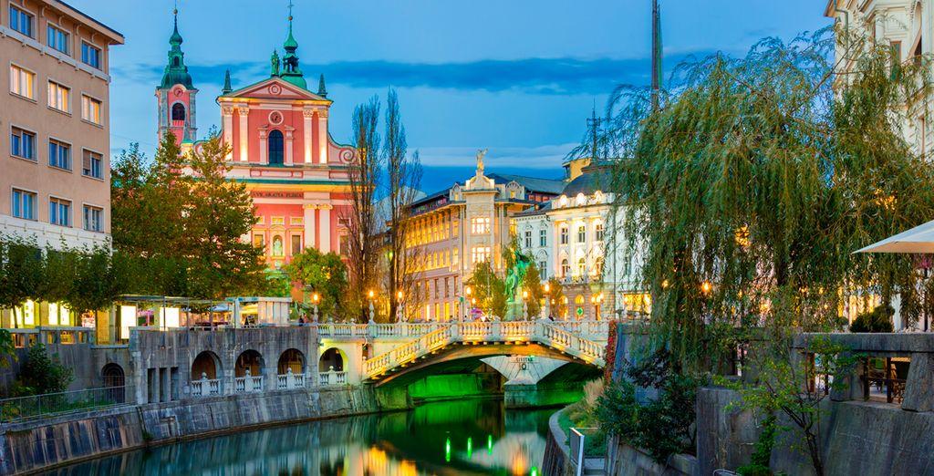 Liubliana es conocida como la