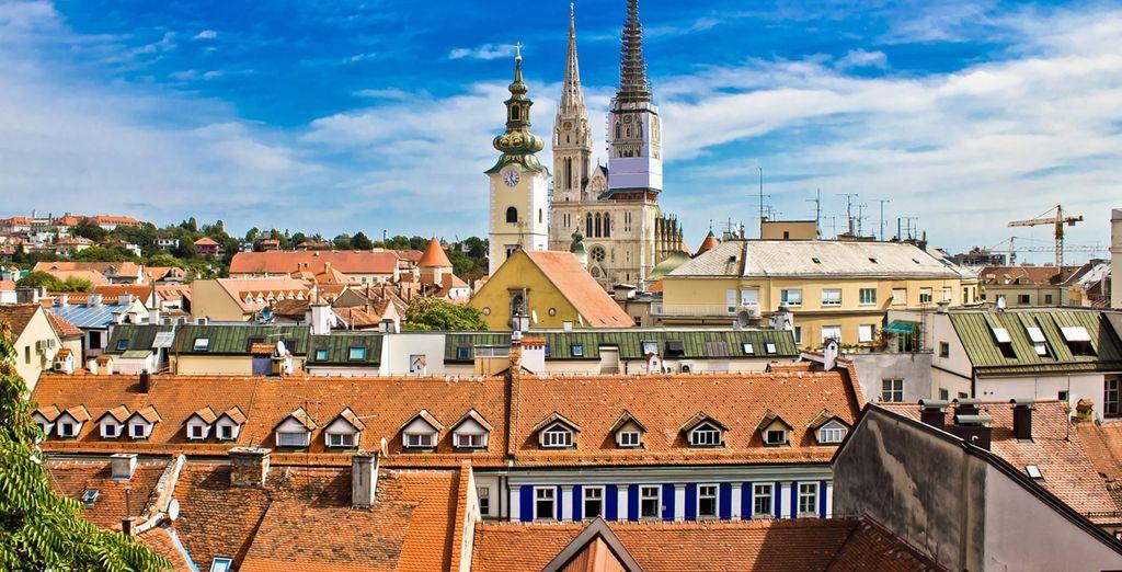 Zagreb, ciudad de cultura, arte y entretenimiento, de gran belleza y ambiente relajado