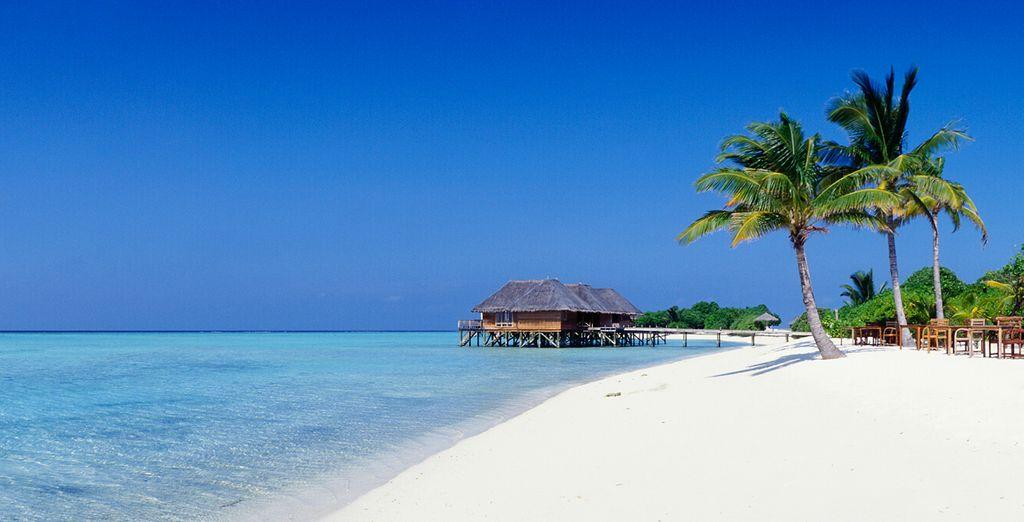 Infinitas playas de arena blanca...