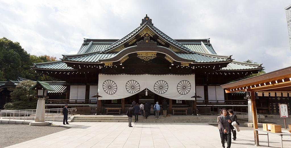 También visitarán el Santuario de Meiji, de confesión budista sintoísta