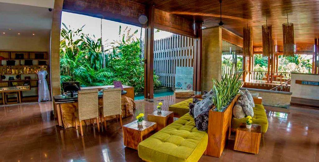 Espacios modernos inspirados en la decoración típica balinesa