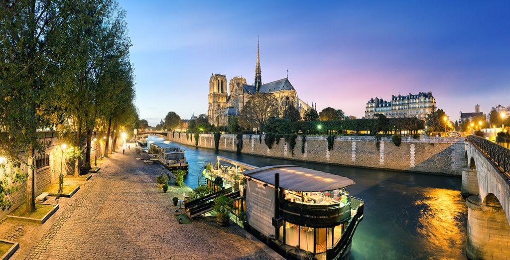 Situado en el corazón de París, que volverá encantado!