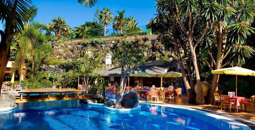 Bienvenido al hotel Puerto de la Cruz