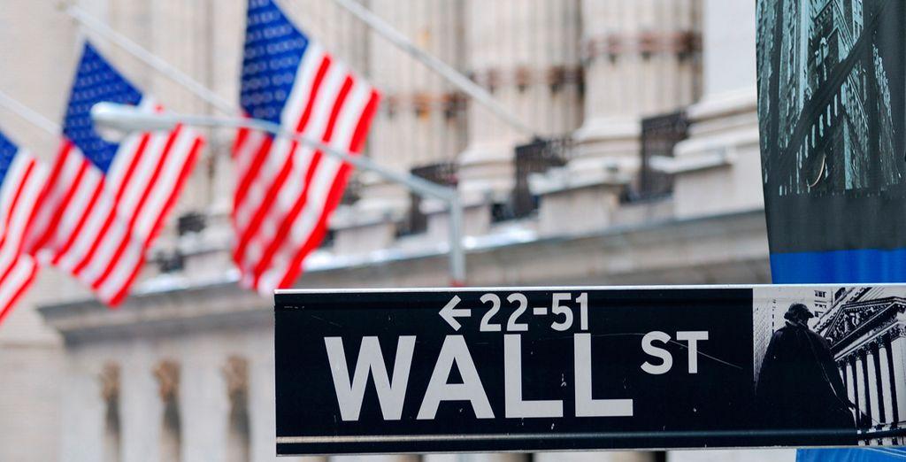 Entraremos en el distrito financiero, Battery Park y Wall Street, para seguir hasta la sede de las Naciones Unidas