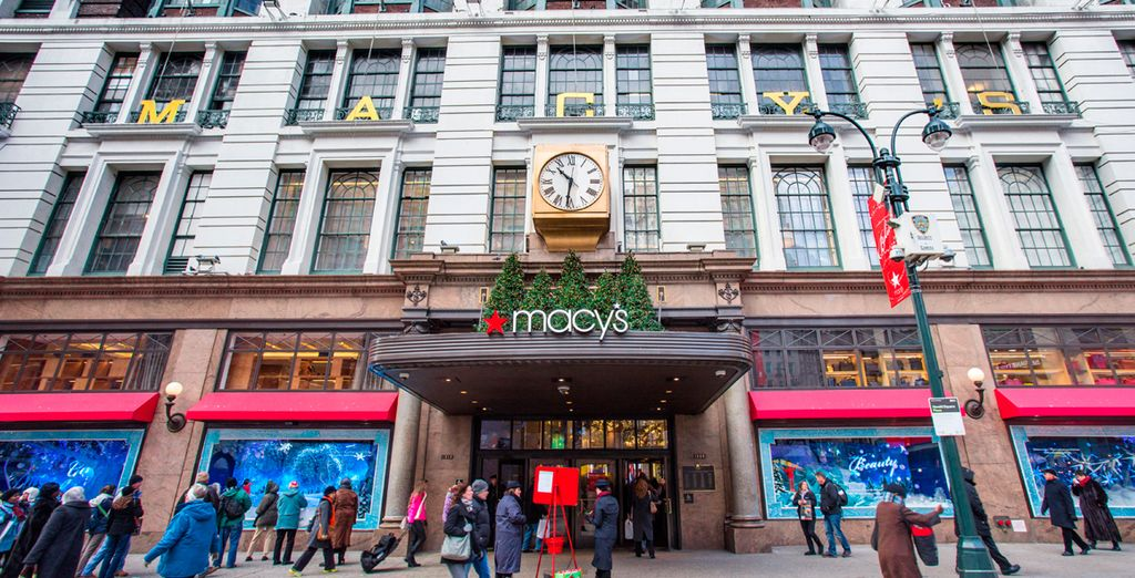 Los fanáticos del shopping podrán disfrutar desde el primer día, ya que en Nueva York las rebajas empiezan el 26 de diciembre