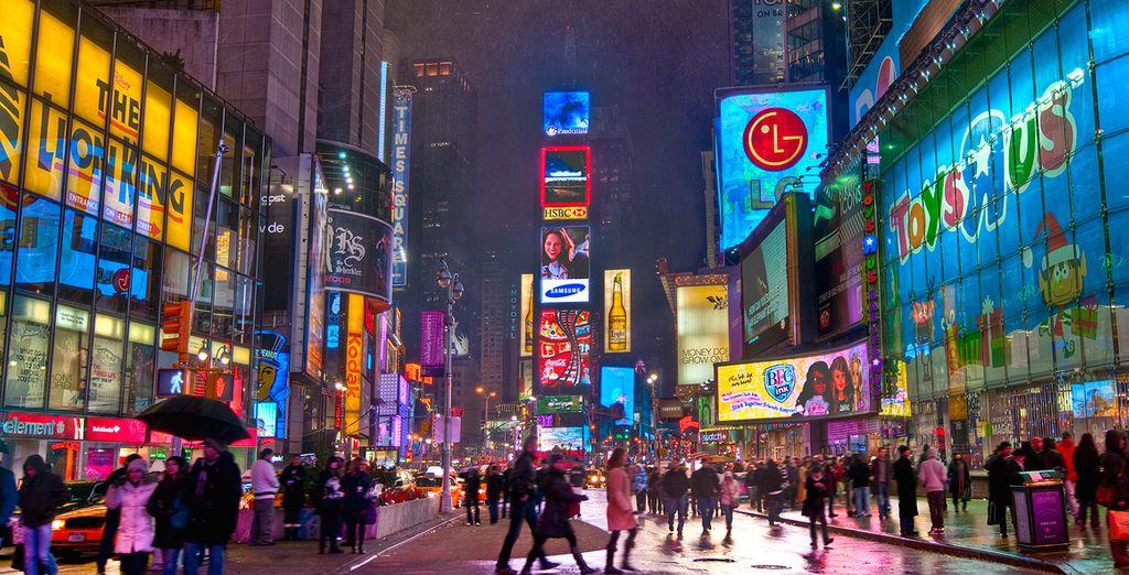 Actividades vuleo más hotel Nueva York