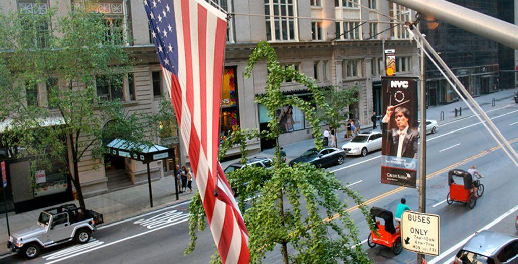 Ofertas de vuelo más hotel a Nueva York