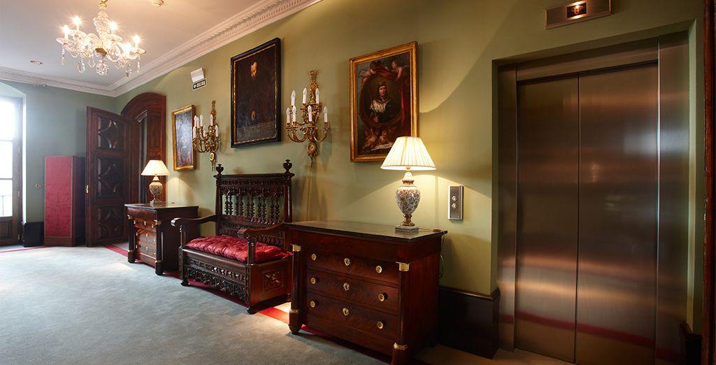 Equilibrio único entre el confort de un moderno hotel de lujo y la historia
