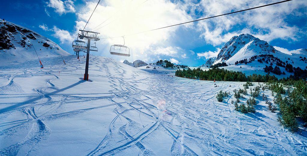Un sueño para los amantes del esquí