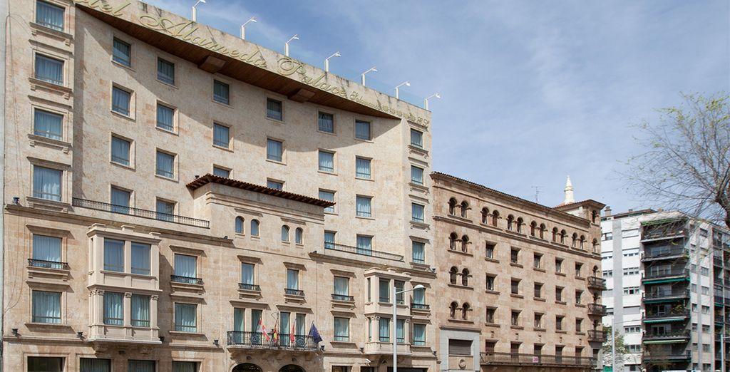 El hotel Alameda Palace le recibirá para una escapada diferente