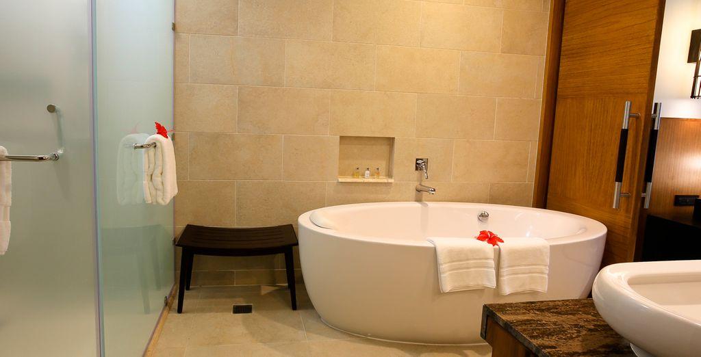 Con baño privado en la misma