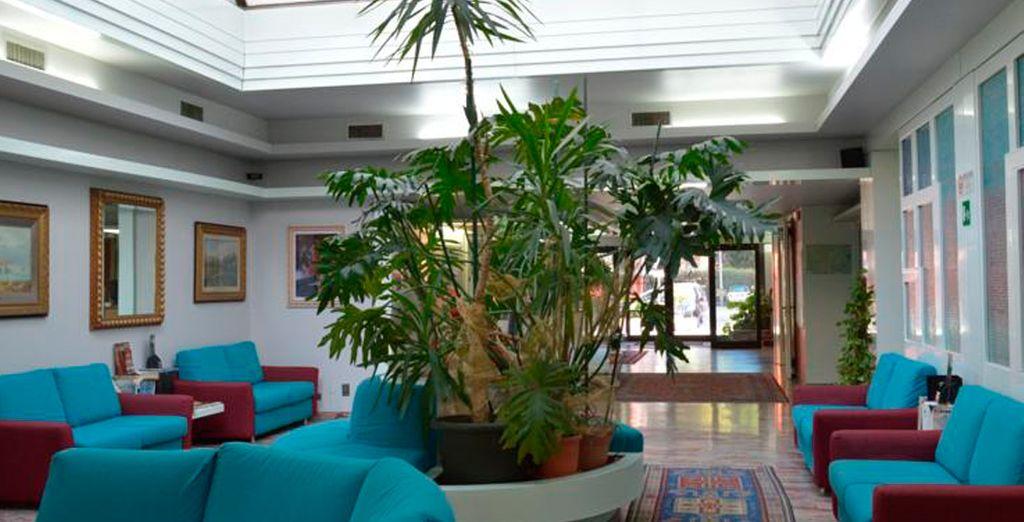 En la región del Véneto se alojará en el hotel Alexander