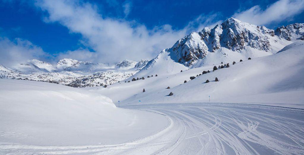 Ordino, con su nieve excepcional y su amplio dominio esquiable
