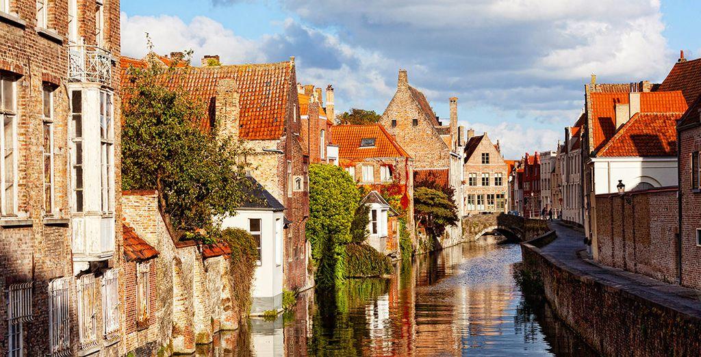 Visite las ciudades belgas de su alrededor