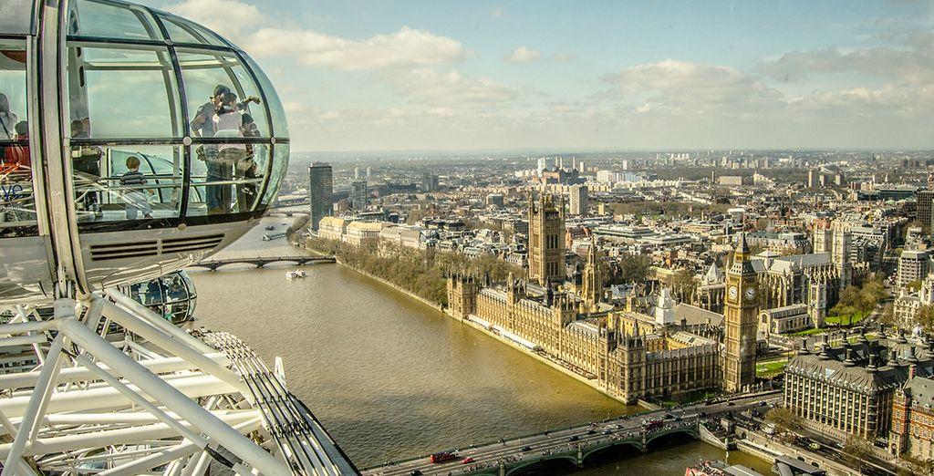 Disfrute de las vistas desde el London Eye