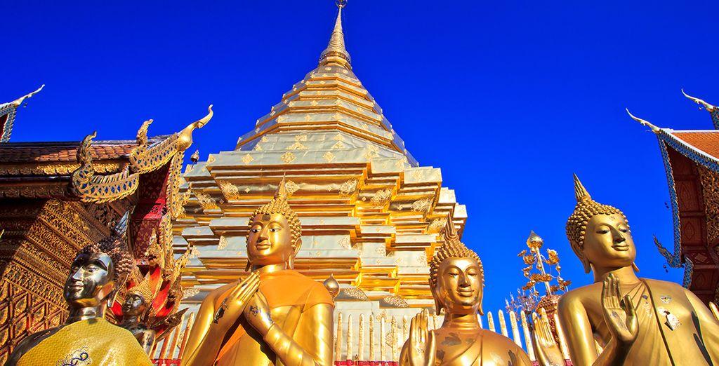 Su primera parada, Chiang Mai, centro cultural del país
