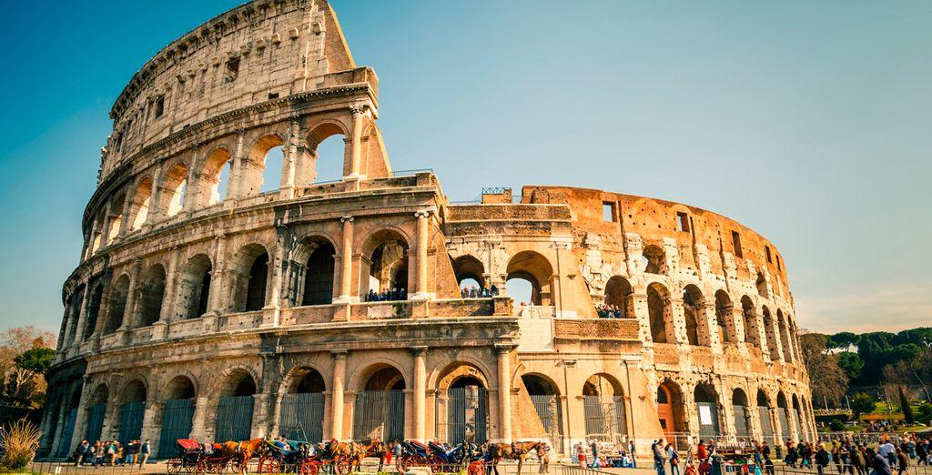 El anfiteatro de del Imperio romano, El Coliseo