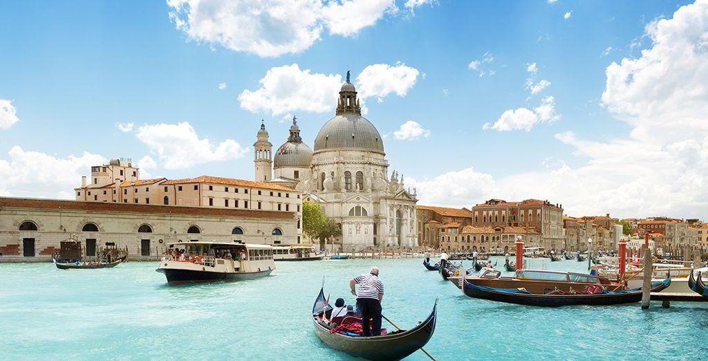 ... vecina de la maravillosa Venecia...