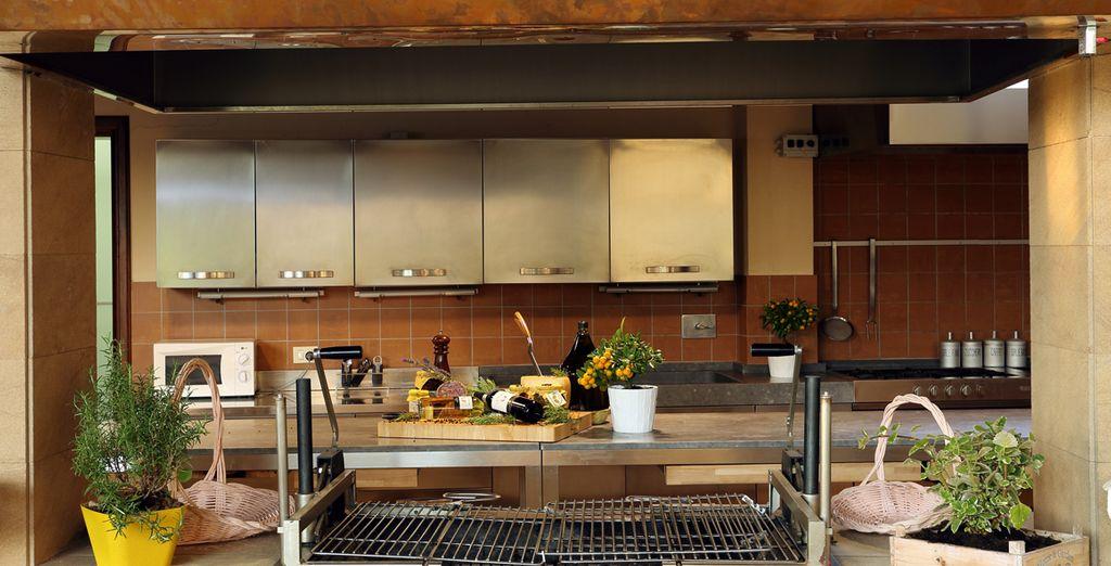Disfrute de una cocina grande y sofisticada