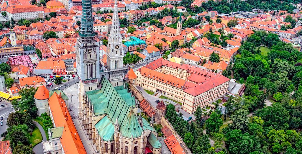 Y la catedral de Zagreb, entre muchas de las sopresas que le aguardan