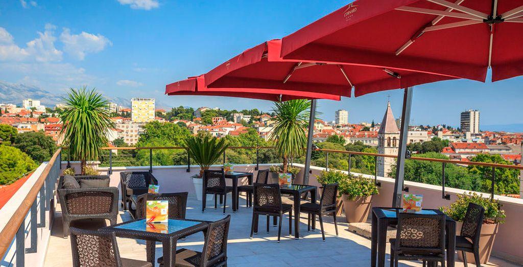 En Split se alojará en el hotel Cornaro 4*