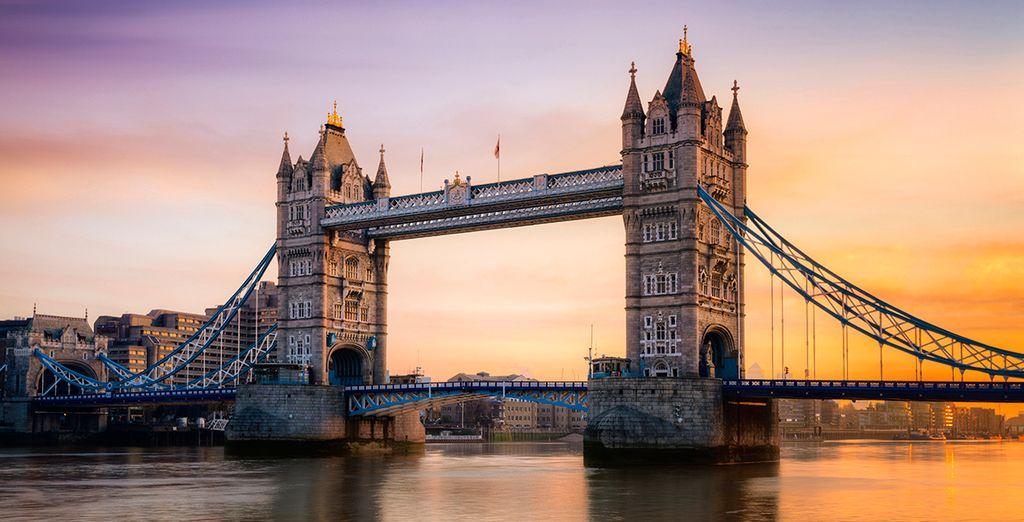 El río Támesis a su paso por Londres
