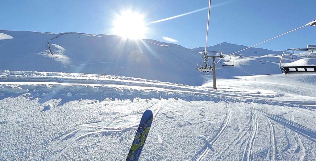 Una estación a su medida para esquiar