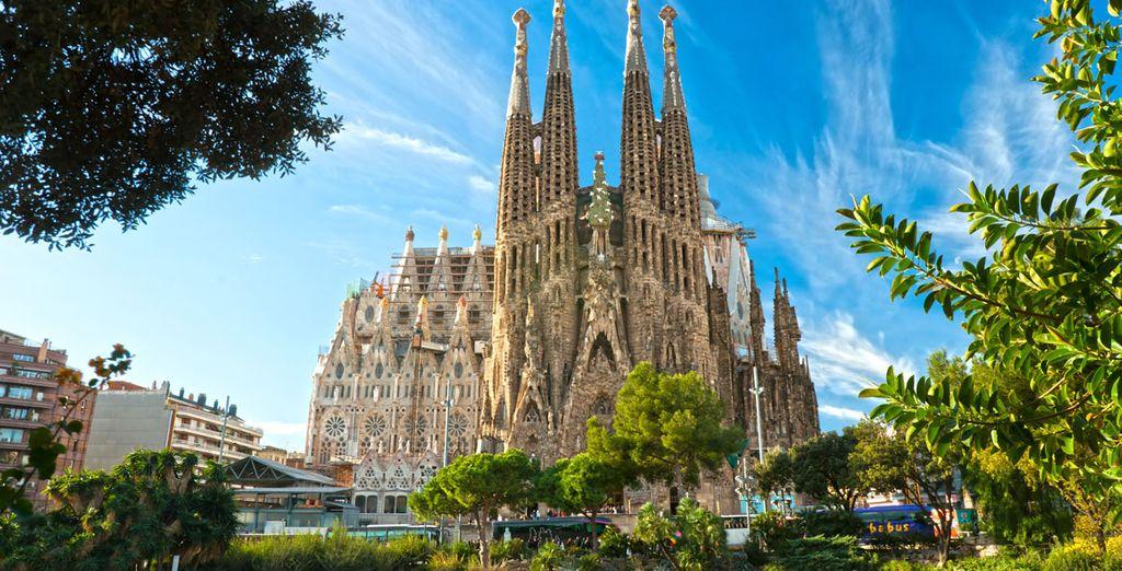 Basílica de La Sagrada Familia, una espectacular parada