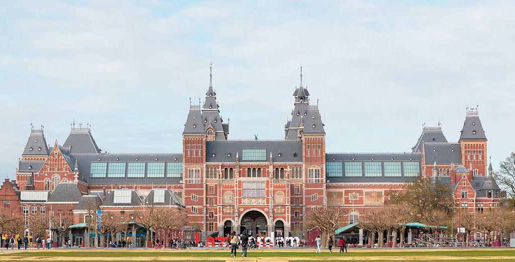 ...o Rijksmuseum, uno de los más importantes de Europa
