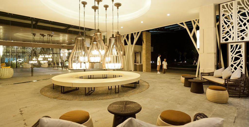 Interiores modernos y espaciosos