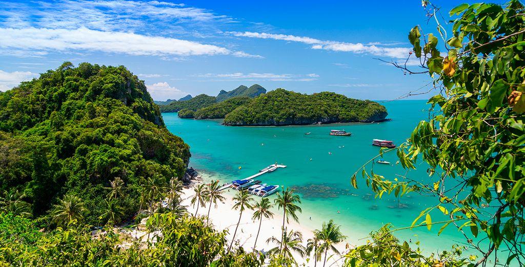 La belleza de las playas de Koh Samui le esperan en su segundo destino