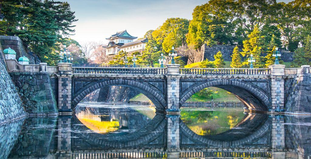 El tercer día tendrá el día libre para visitar, por ejemplo, el Palacio Imperial