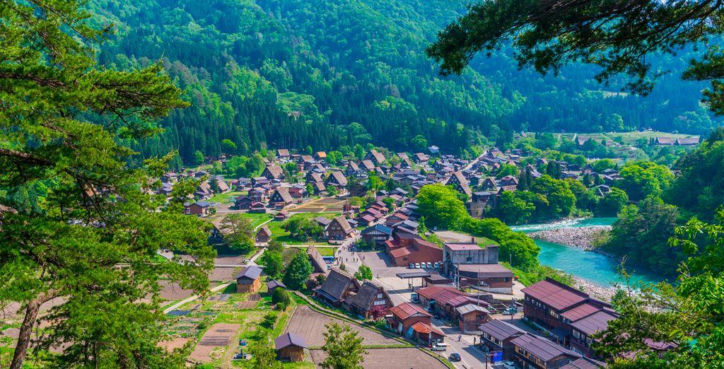 Takayama, antigua ciudad fortificada, que ha permanecido impregnada de la atmósfera más tradicional del Japón de antaño