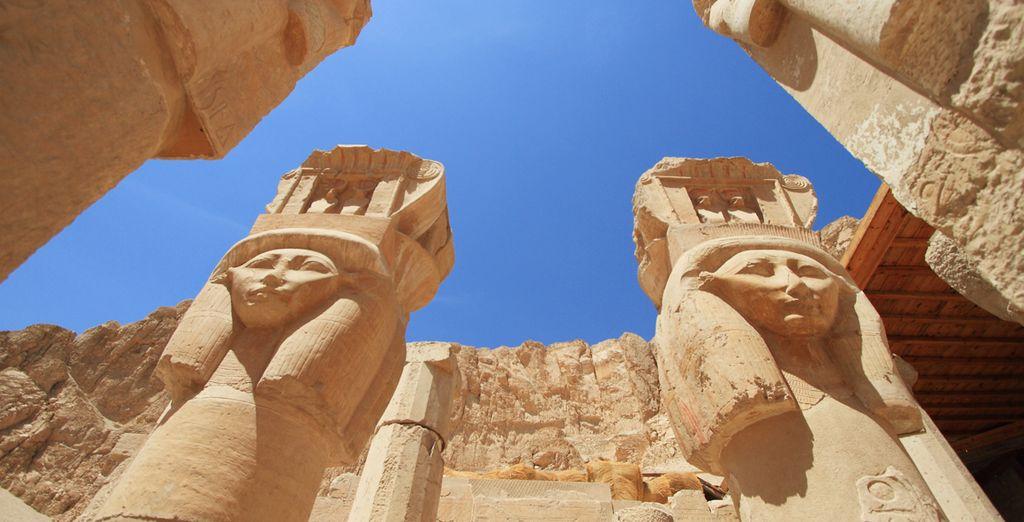 O el Templo de la Reina Hatshepsut
