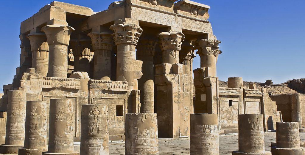 Templo de los dioses Sobek y Haroeris, en Kom Ombo